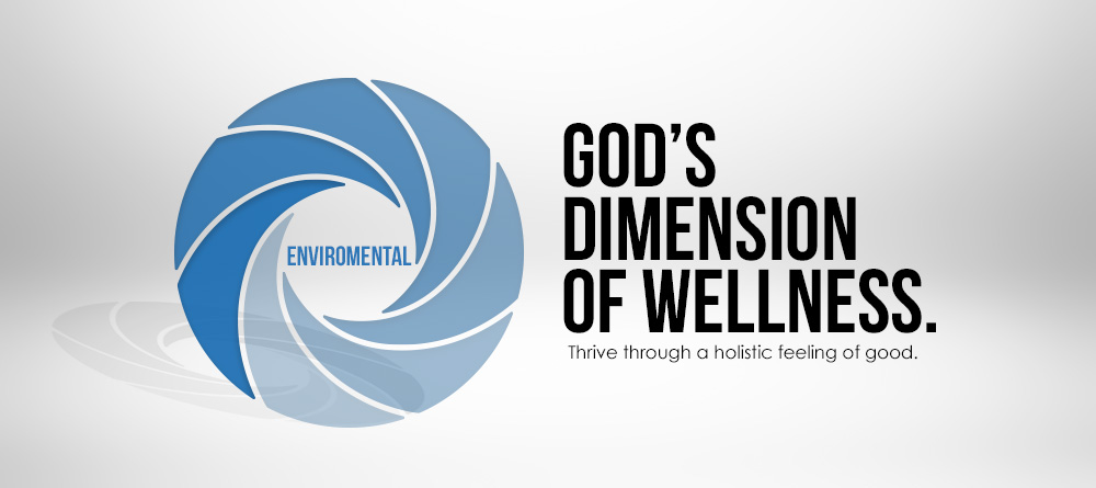 dimension of wellness enviromental